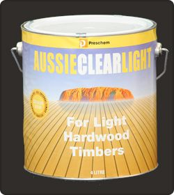 Aussie Clear Light wood finishes by Preschem
