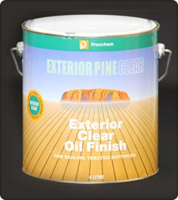 Exterior Clear Oil Finish by Preschem