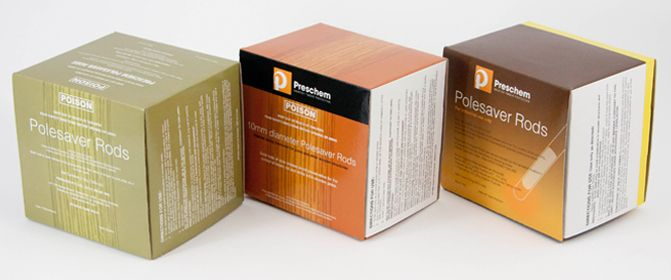 Preschem's Wood Pole Preservatives in Boxes