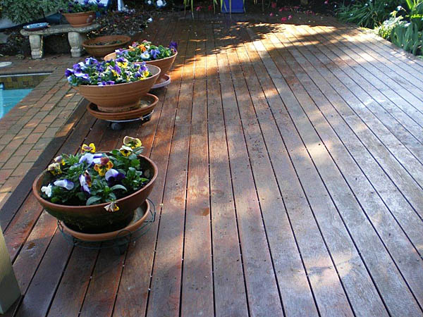 Aussie Clear on Merbau Decking